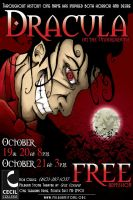 Dracula Theatre Poster by EMumford
