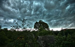 HDR cloudy look by piotrkol91