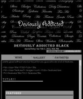 Deviously Addicted - black by Eternal-Skye