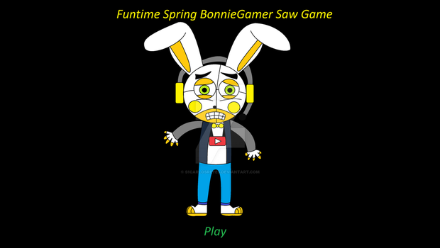 Funtime Spring BonnieGamer Saw Game by s1carlosreyes