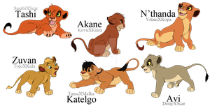 Lion King Cannon Adoptables by BrizzAdoptsXX