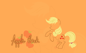 MLP: Applejack Wallpaper by godoflight
