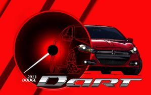 2013 DODGE DART by JikeArts