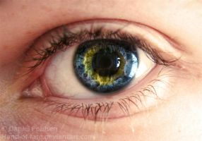 my eye is blue and yellow by srvvzr