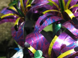 Recycled Soda Can Lilies2 by Christine-Eige