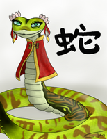 Year of the Viper by DerpsonMuffinpants