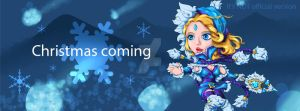 DOTA 2 CHIBI - CRYSTAL MAIDEN (Prepare for Snow) by hothanhlamleok