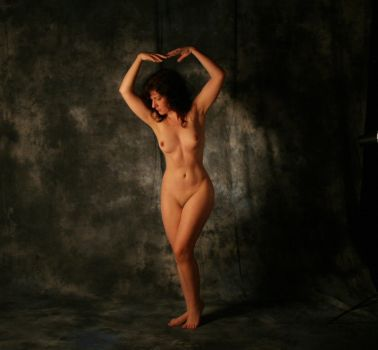 Formal pose nude : stock by Ange1ica-Stock