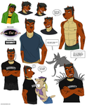 Various Jason Doodles by crocdragon89