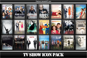 TV Show Icon Pack 20 by FirstLine1