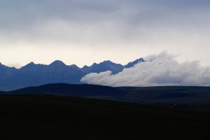Clouds vs Mountains by Mestiv