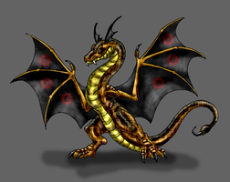 Verden-Spotted Wyvern by Scatha-the-Worm