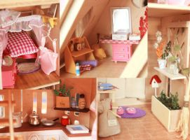 Doll rooms by Dikaya37