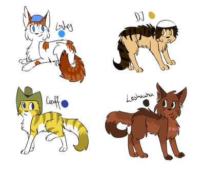 Total Drama, Characters pt 5 by Drama-kitty