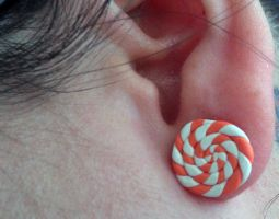 Sample Pic for Candy Swirl Post Earrings by Gynecology