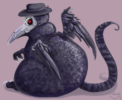painterly pest by Ribbedebie