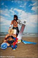 Final Fantasy Dissidia 012 - Father and Son by LeonChiroCosplayArt
