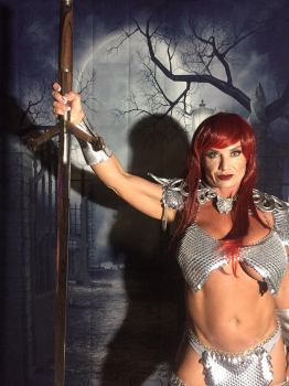 Red Sonja by graywolfsmaille