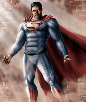 Superman by Steelbred