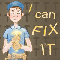 Fix It Felix Jr. by SchizoDolph