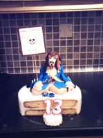Jack Sparrow Cake by chefkemp