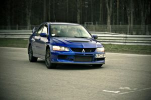 Evo IX by redsunph