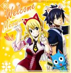 ''Meow '' Lucy,Gray ,Fairy Tail 293 by icecream80810