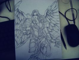 Kayle lol by WivianeSoares