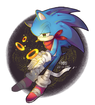 [AT] BOOM Sonic by cherrychart