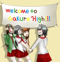 Welcome to Gakure High by Wolfchan11