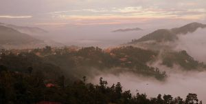 Dhulikhel at dusk by Suppi-lu-liuma