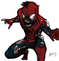 Marvel Zombies, Spider Man by idiotbassist62090
