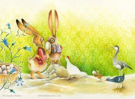 Easter Audition by Heliocyan