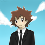 cute tsuna by BeTzYAnAhI