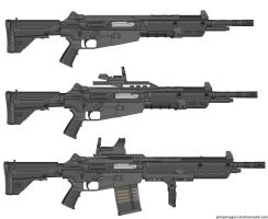 Weapons: THD-63 by purpledragon104