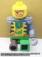 Papercraft LEGO minifig test 4 by ninjatoespapercraft
