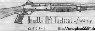 Benelli M4 Tactical by CrazyDave55811