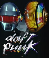 Fuck Yeah Daft Punk by dhiyafaris