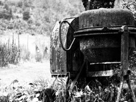 Cement mixer - Guettingen near lake of constance by elDenim