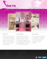 Stacey Hair Salon Web Design by cobra892