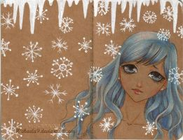 Winter Moleskine by Michaela9