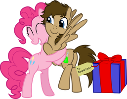 OC Commission: Double Helix Birthday by jaybugjimmies
