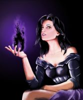 Lena, Dark Caster by LittleFael