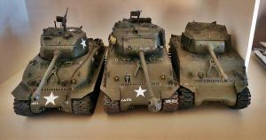 Old Sherman models by Brigadier-Zod
