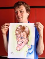 Nate's Caricature by meiken