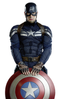 Captain America:The Winter Soldier by BruceAlga