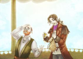 Jacques and Draco by CristianaLeone