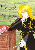 Vincent Nightray by orichime-oro