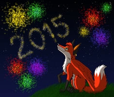 Happy New Year! by iFoxSpirit