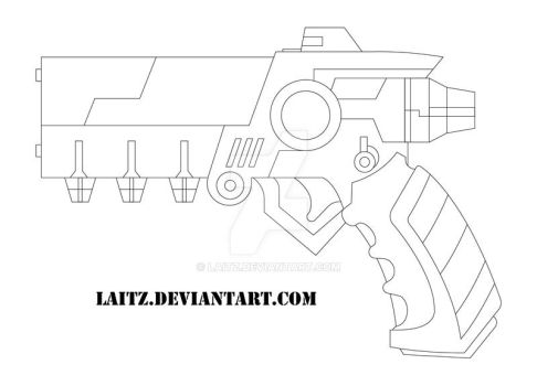 Conductor Gun : Blueprints by Laitz